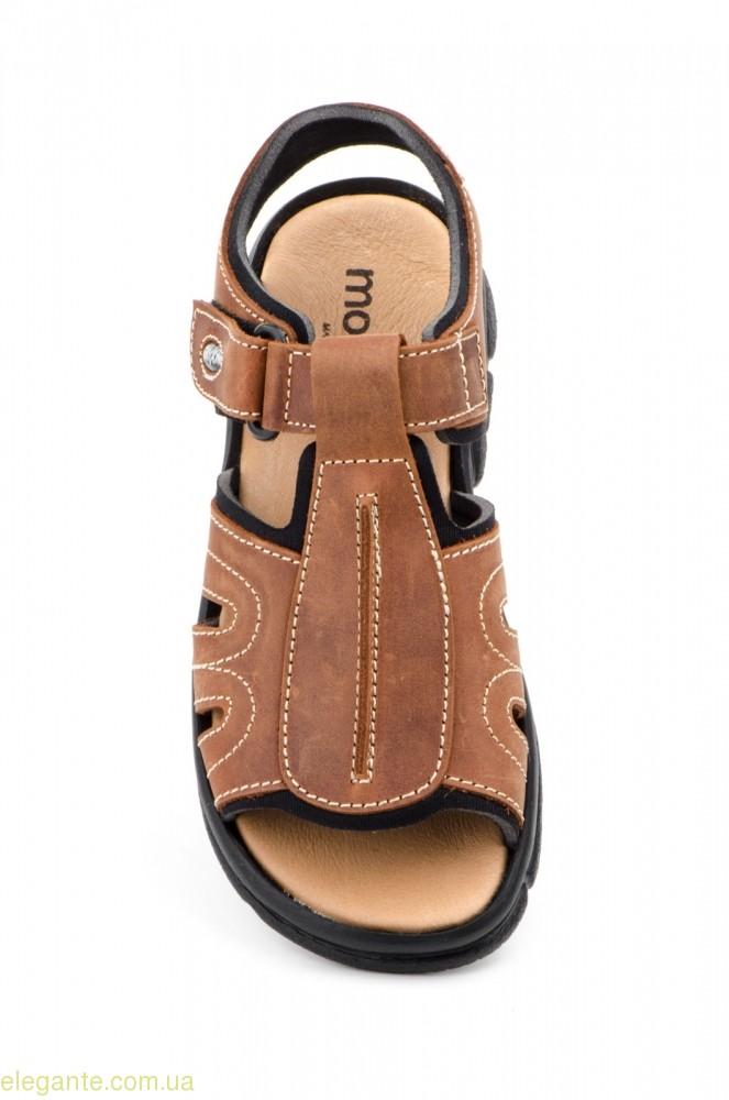 Мужские сандалии MORXIVA BIO цвет нат. кожы 0