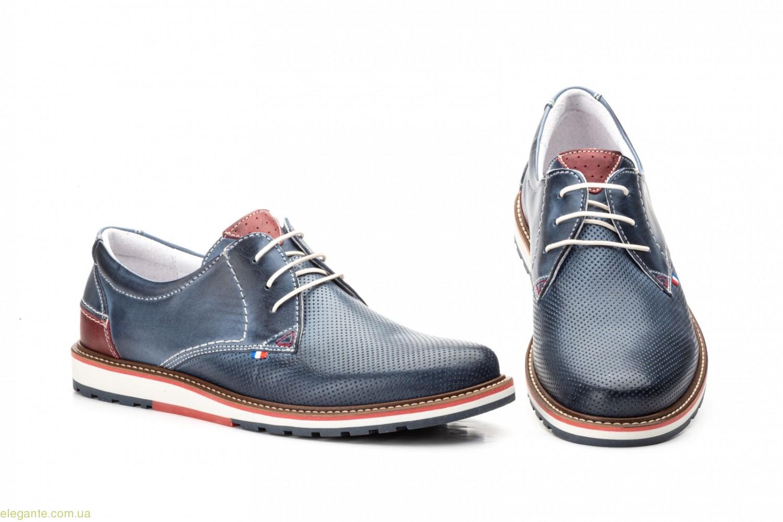 Мужские туфли Pepe Agullo Picados синие 0