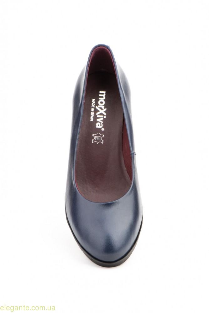 Жіночі туфлі MORXIVA сині 0