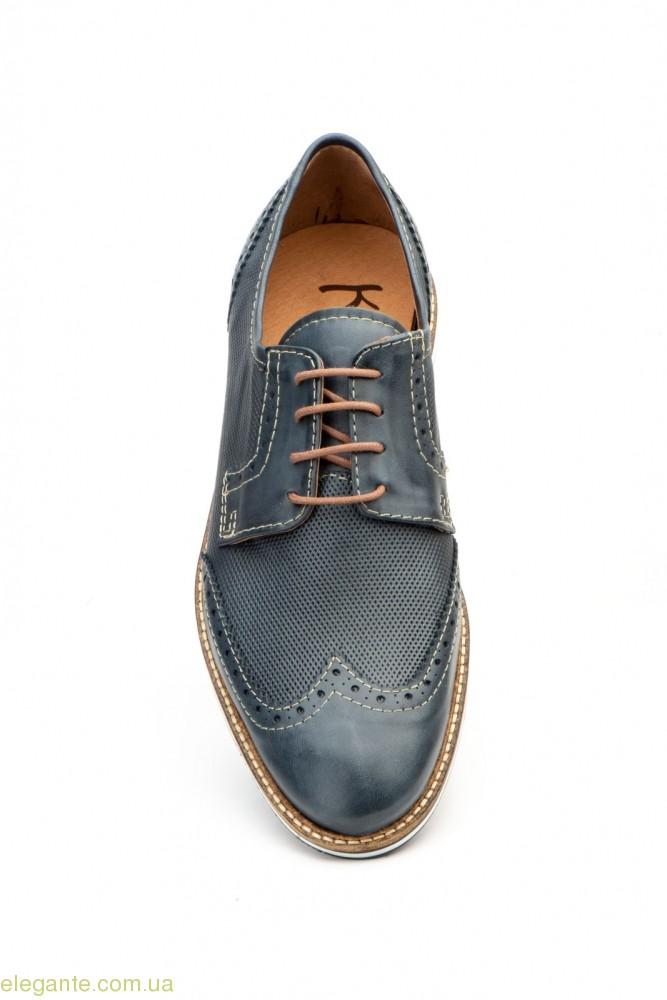 Мужские туфли дерби KEELAN Ingles1 синие 0