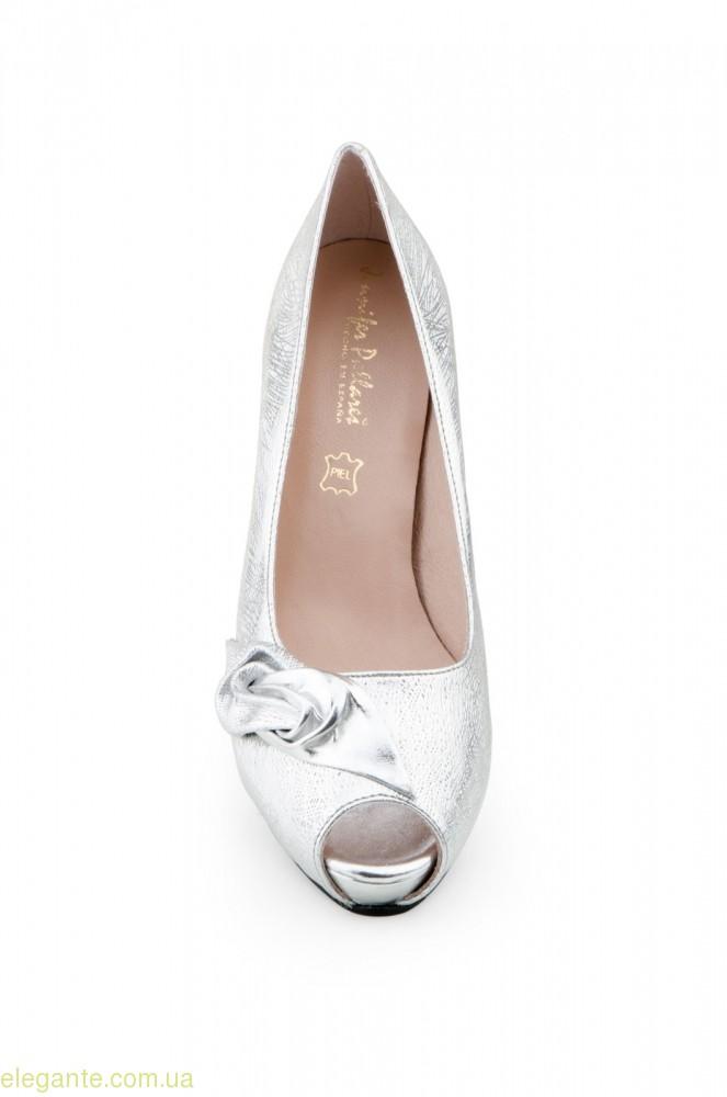 Жіночі туфлі TORNADO срібні від Jennifer Pallares 0