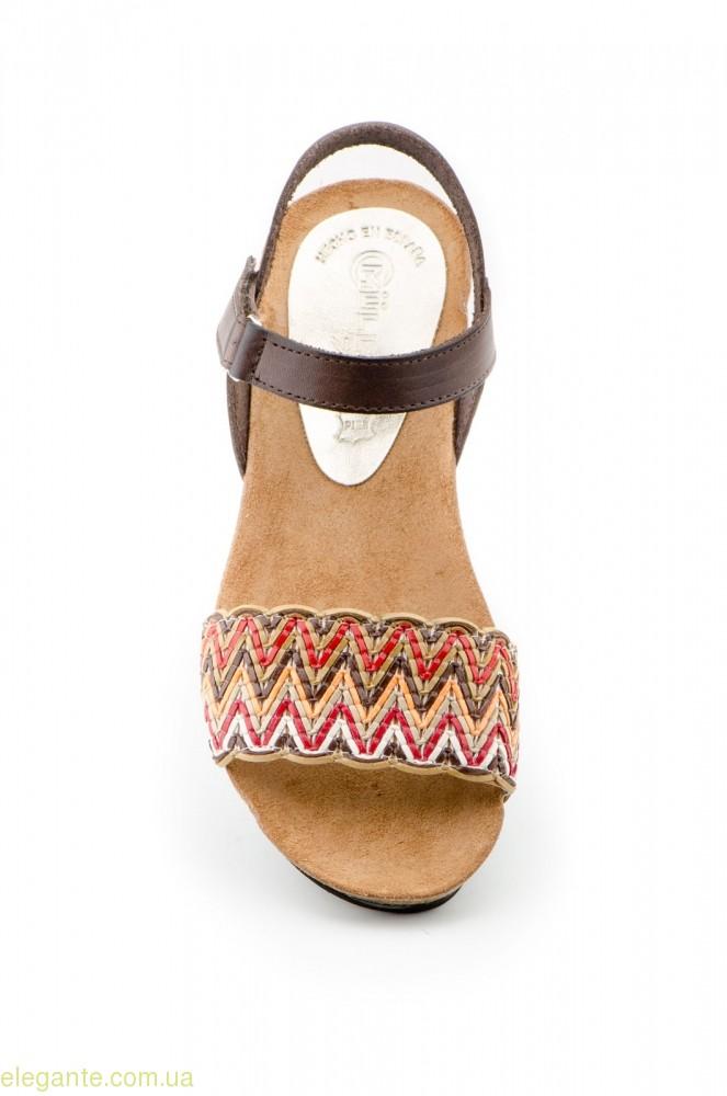 Жіночі сандалії MULLER Trenzado коричневі 0