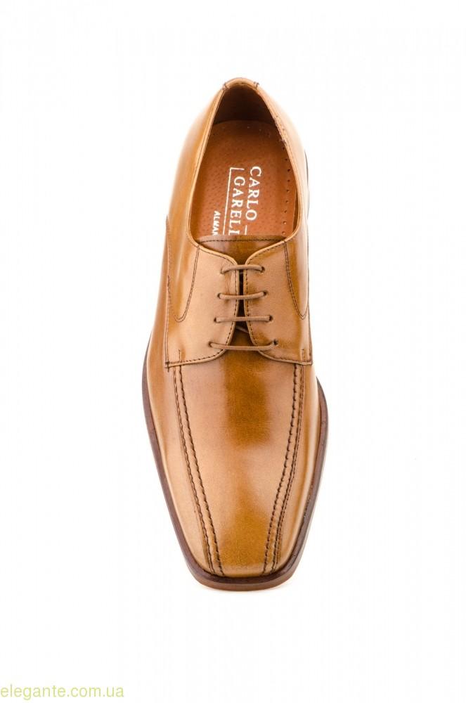 Мужские туфли CARLO GARELLI цвет нат. кожи 0