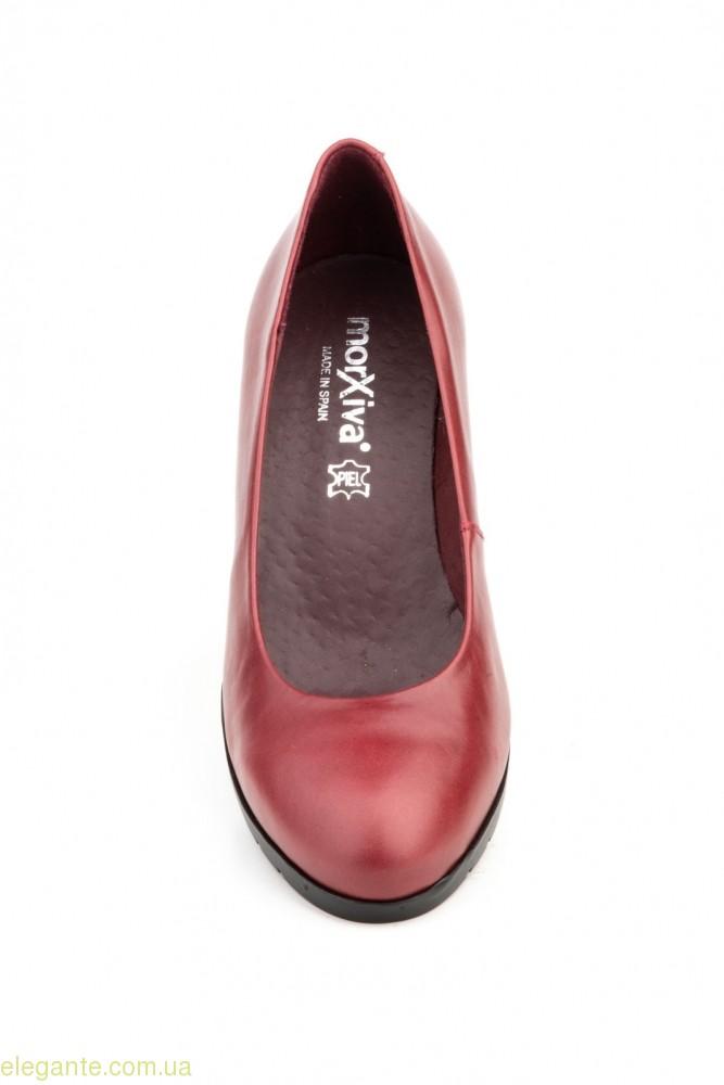 Жіночі туфлі MORXIVA бордові 0