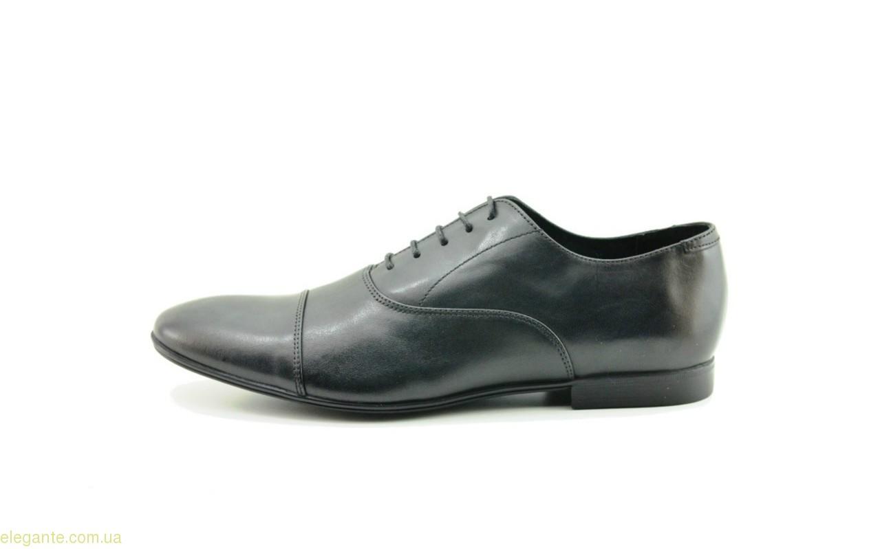 Чоловічі туфлі оксфорди BECOOL чорні 0