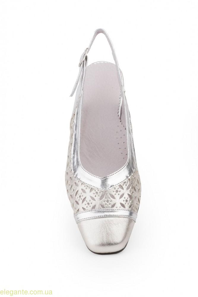 Жіночі туфлі JAM срібні 0