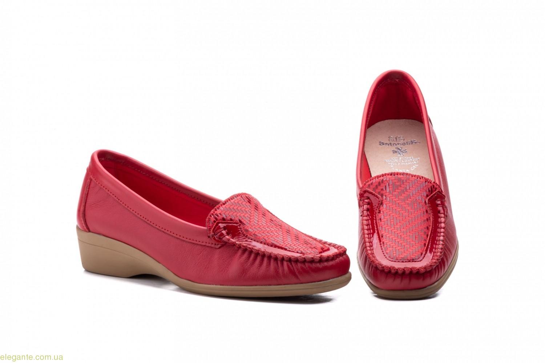 Женские туфли Antonella Лайкра красные 0