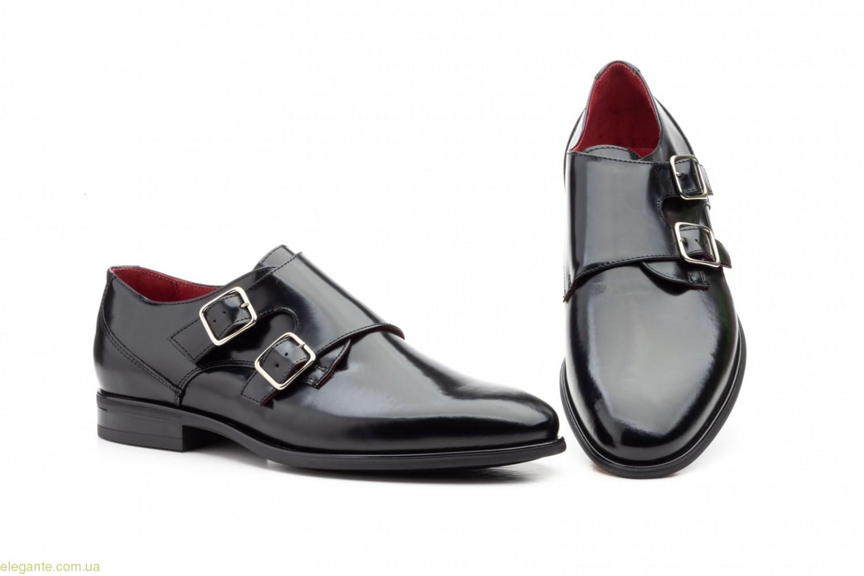 Чоловічі туфлі з пряжками Keelan чорні 0