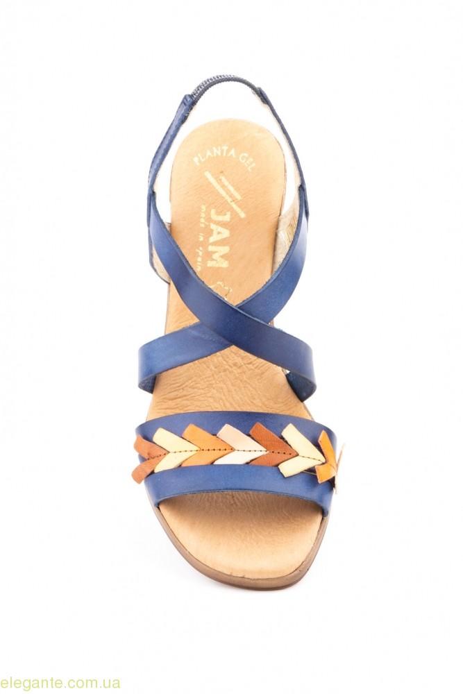 Жіночі босоніжки еластичні JAM Lambus сині 0