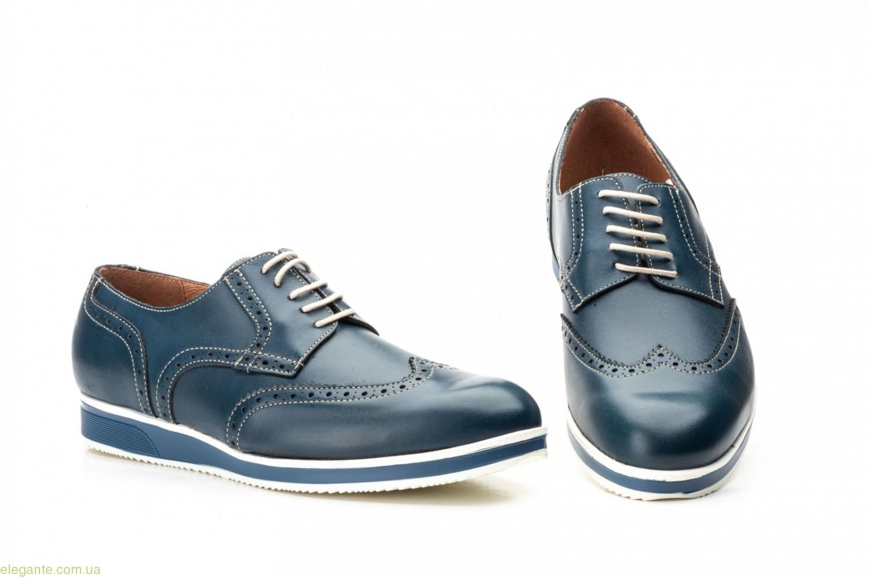 Мужские туфли Keelan Casual  синие 0
