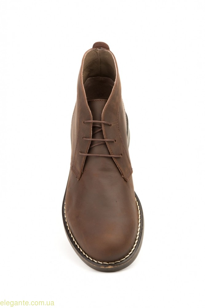 Мужские ботинки SCN1 коричневые 0