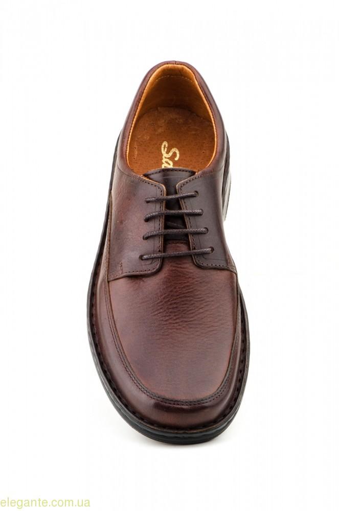 Чоловічі туфлі  SCN CRISPINOS коричневі 0