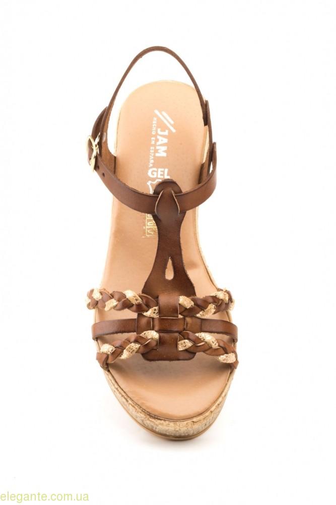 Жіночі босоніжки MISTRAL JAM1 коричневі 0