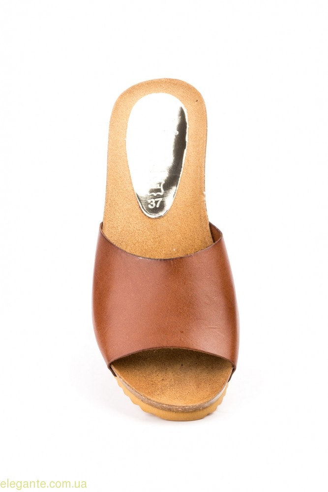 Женские шлепанцы JAM LIMON коричневые 0