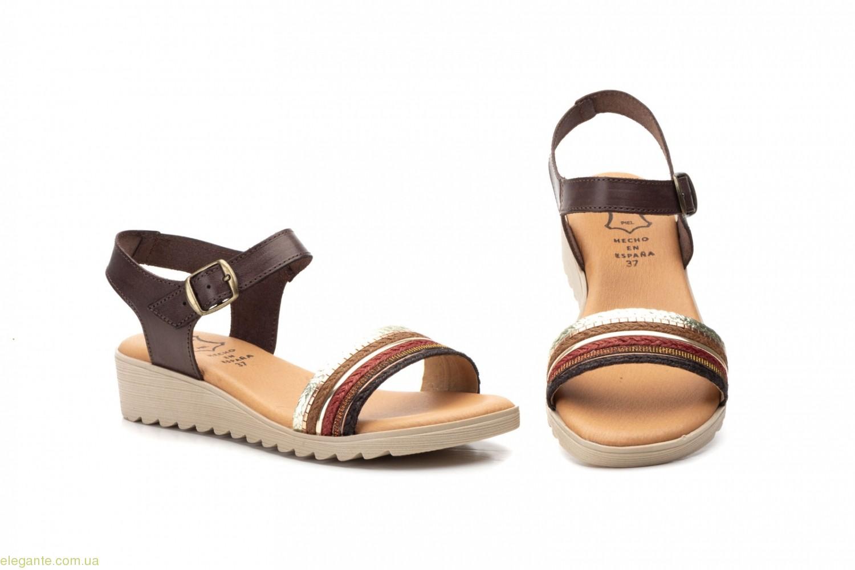 Жіночі сандалі Alto Estilo коричневі 0