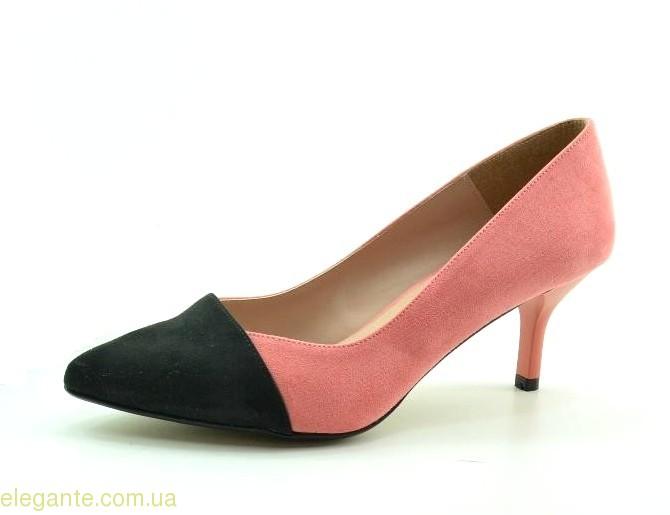 Женские туфли на каблуке DIGO DIGO розовые 0