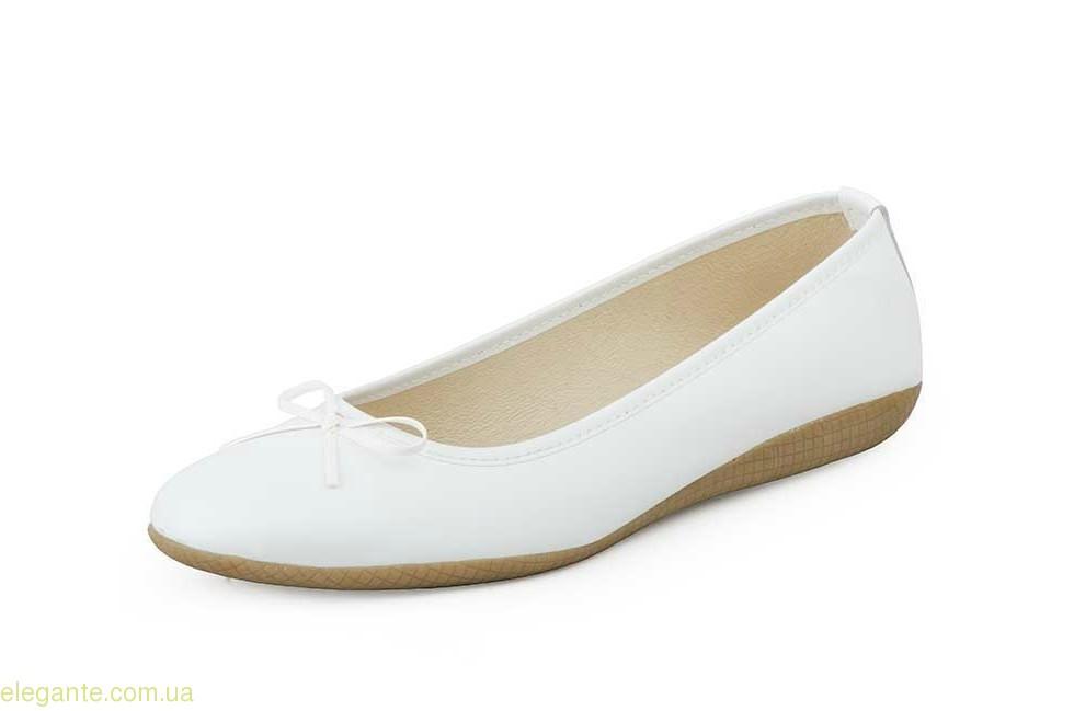 Жіночі балетки MISTRAL білі 0
