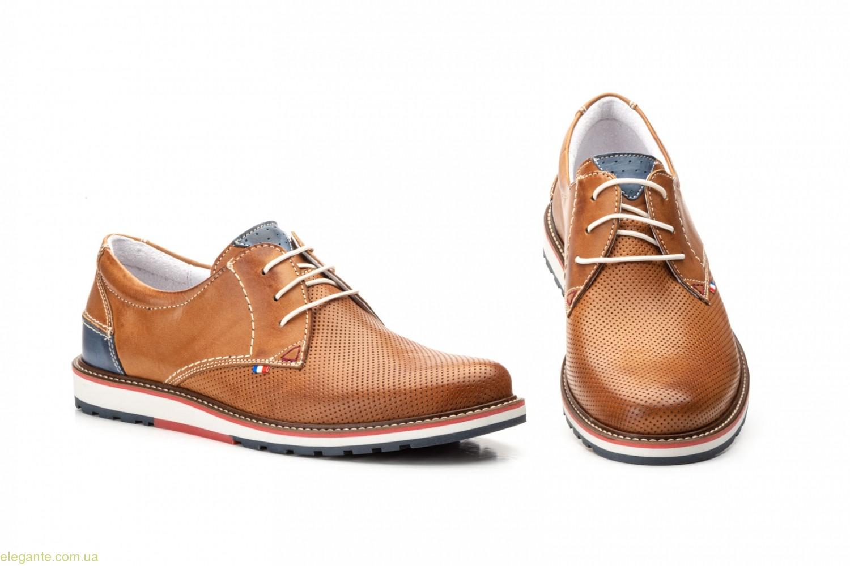 Мужские туфли Pepe Agullo Picados коричневые 0