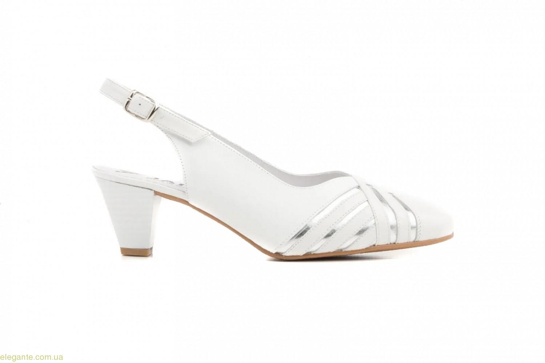 Жіночі туфлі JAM білі 0