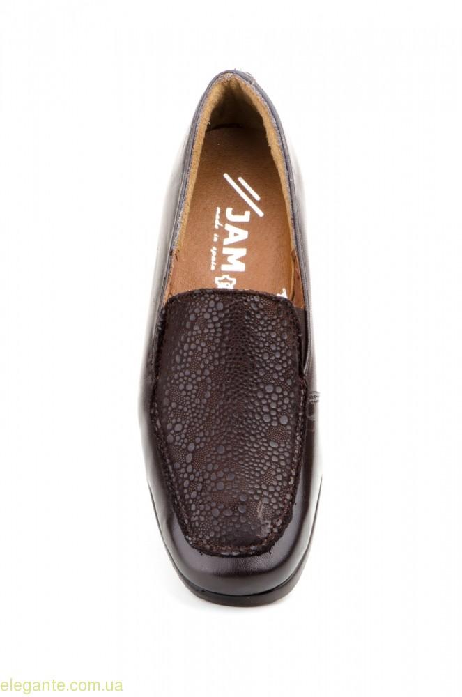 Женские туфли JAM Likra коричневые 0