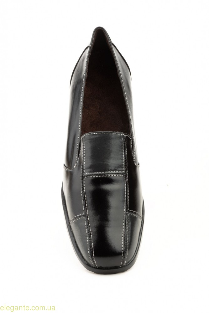 Женские туфли на танкетке JAM2 чёрные 0