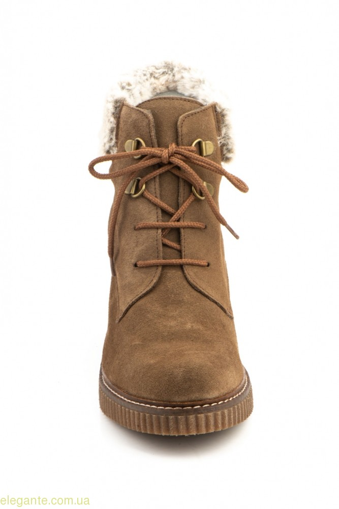 Жіночі черевики CASTOR коричневі 0