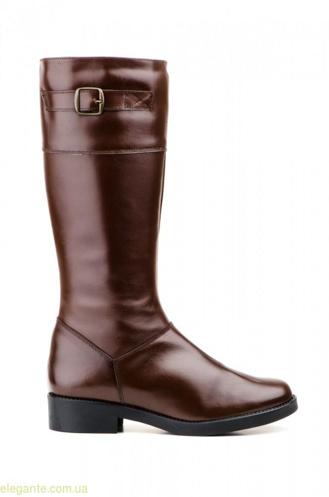 Жіночі чоботи JAM з пряжкою коричневі 0