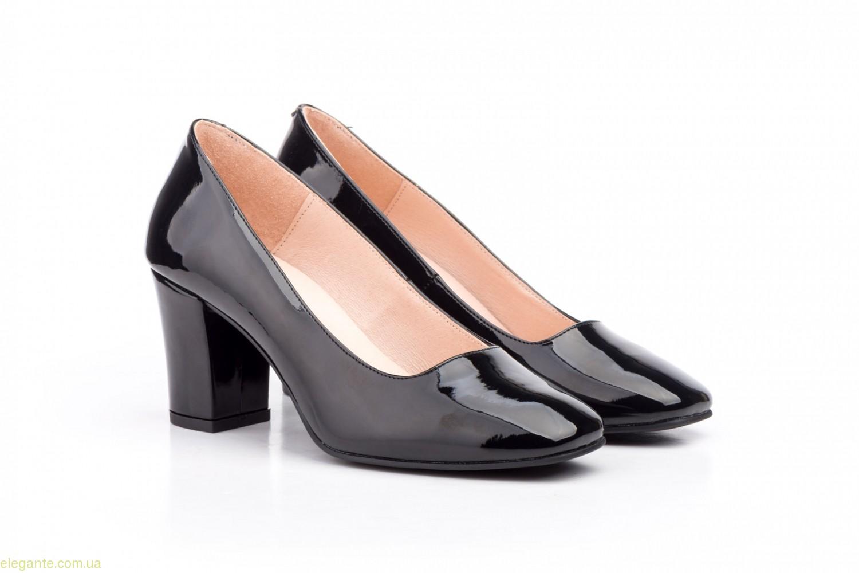 Жіночі туфлі лакові ANNORA чорні 0