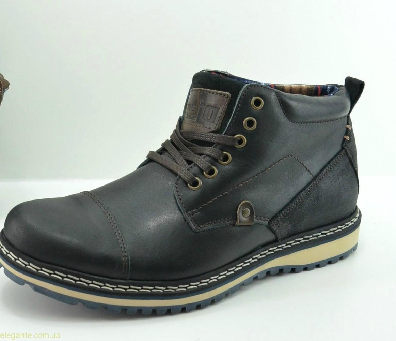 Мужские ботинки DJ SANTA4 чёрные 0