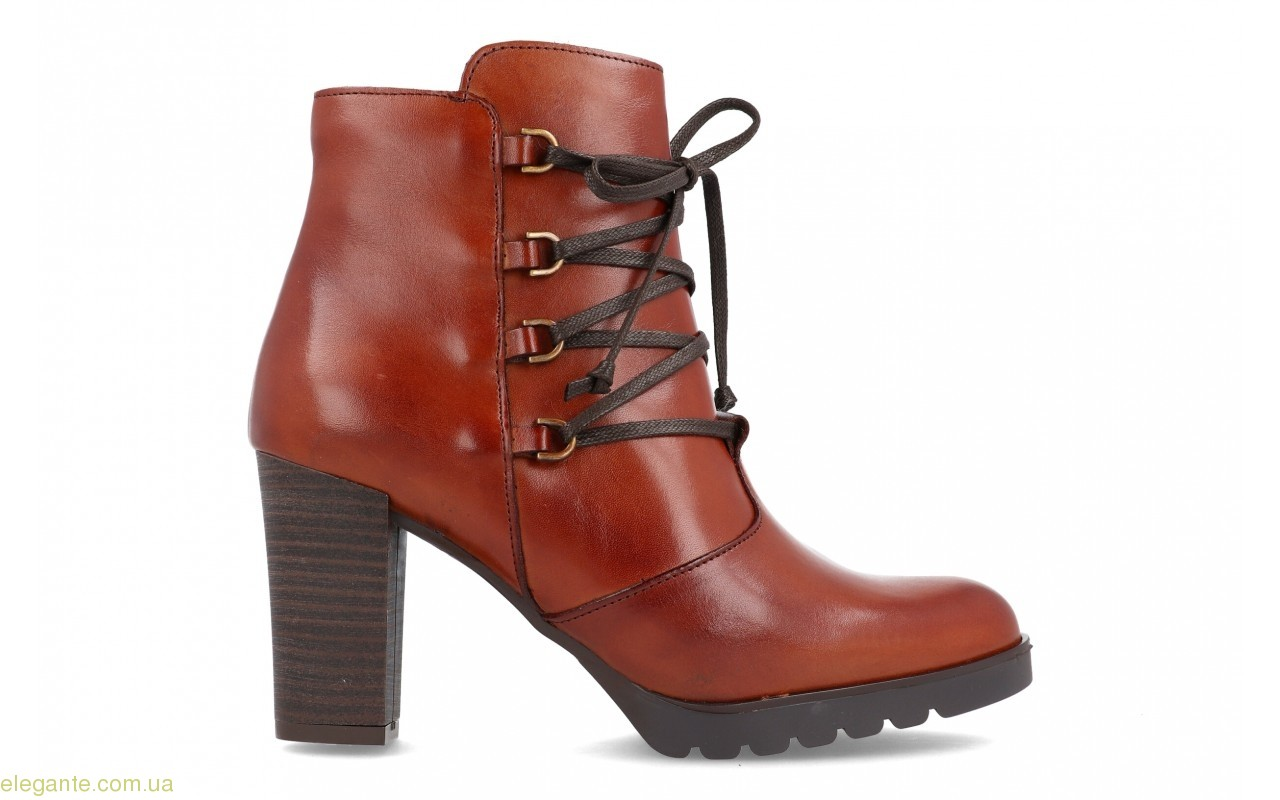 Женские ботинки с шнурками BDA 0