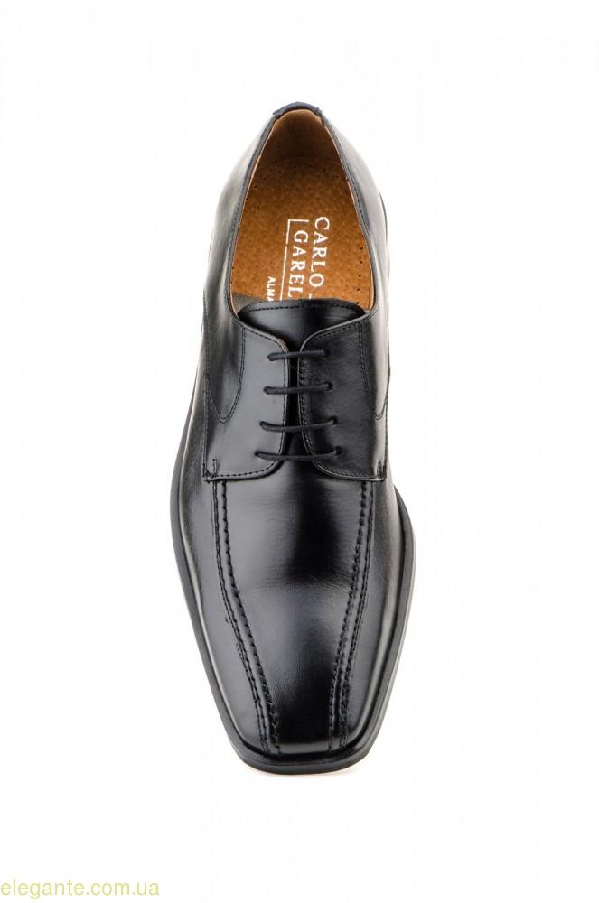 Мужские туфли CARLO GARELLI чёрные 0