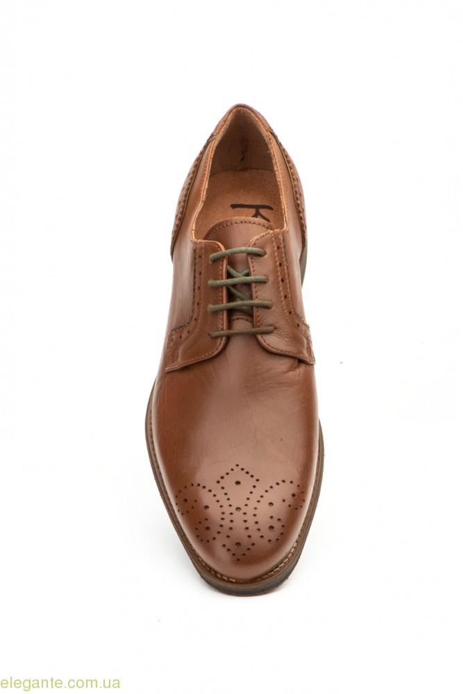 Мужские туфли дерби KEELAN Ingles коричневые 0