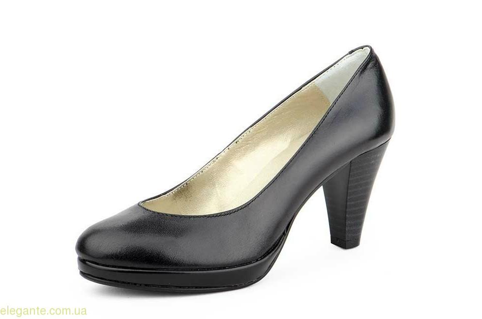 Жіночі туфлі на каблуку  ANNORA чорні 0