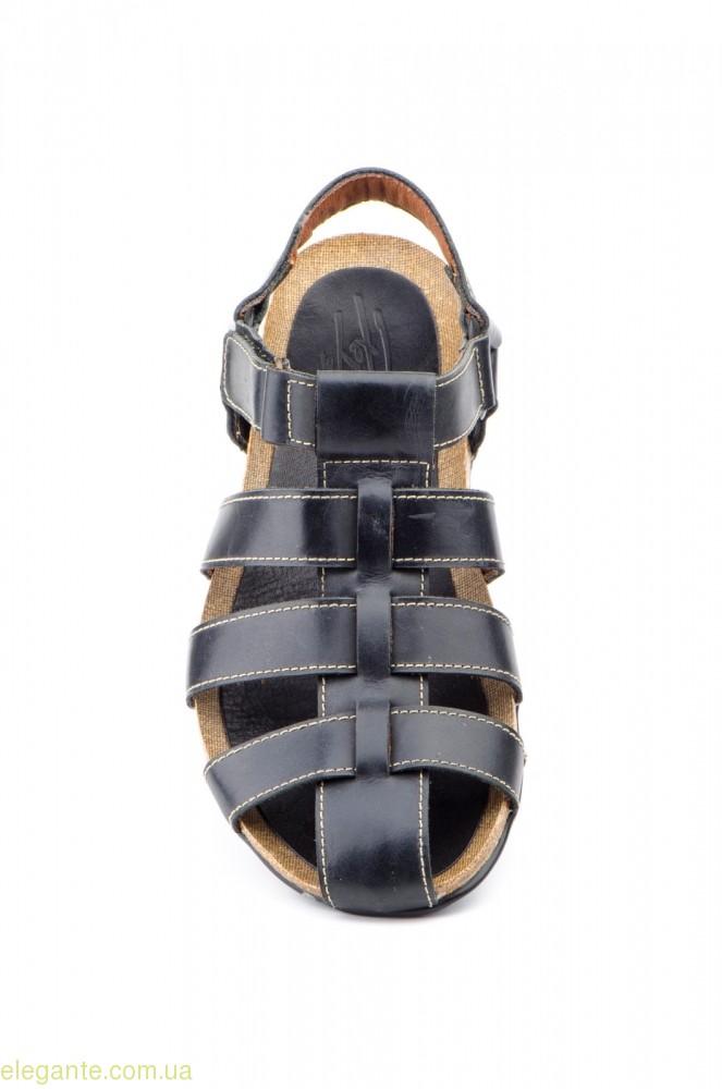 Мужские сандалии PEPE AGULLO чёрные 0