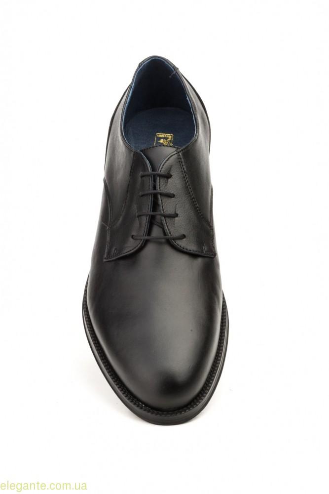 Мужские туфли дерби SCN2 чёрные 0