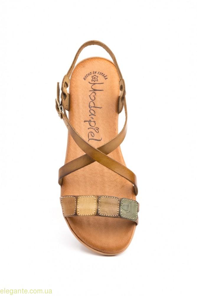 Женские босоножки MODAPIEL коричнево-светлые 0
