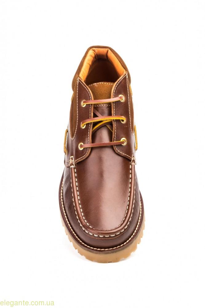 Мужские ботинки SCN коричневые 0