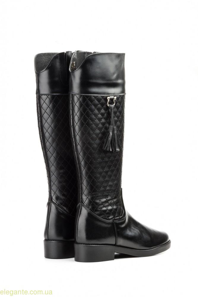 Жіночі чоботи JAM1 з пензликами чорні 0