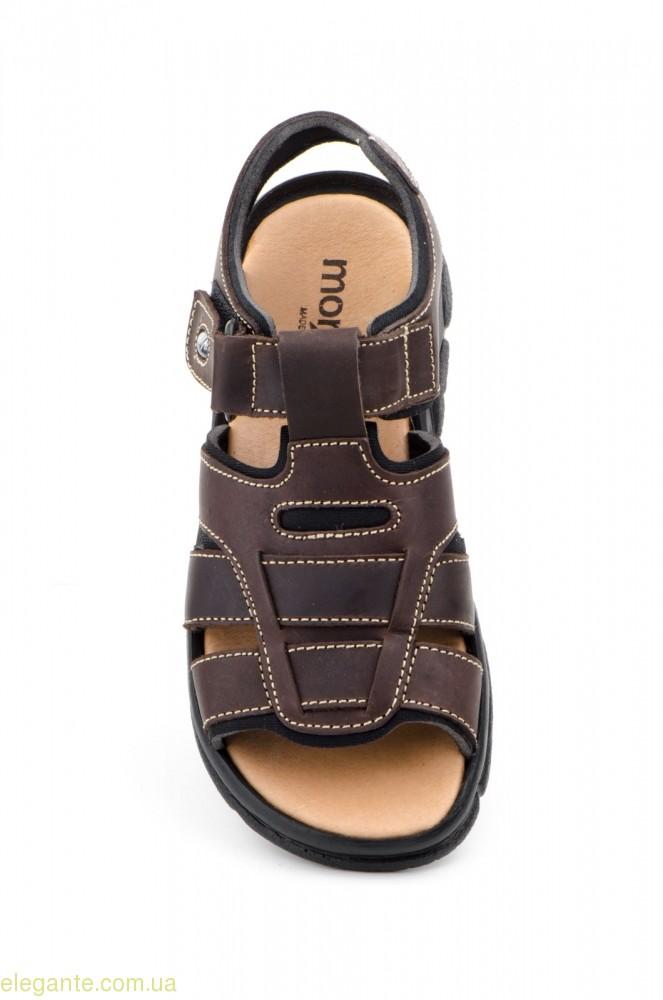 Мужские сандалии MORXIVA BIO коричневые 0