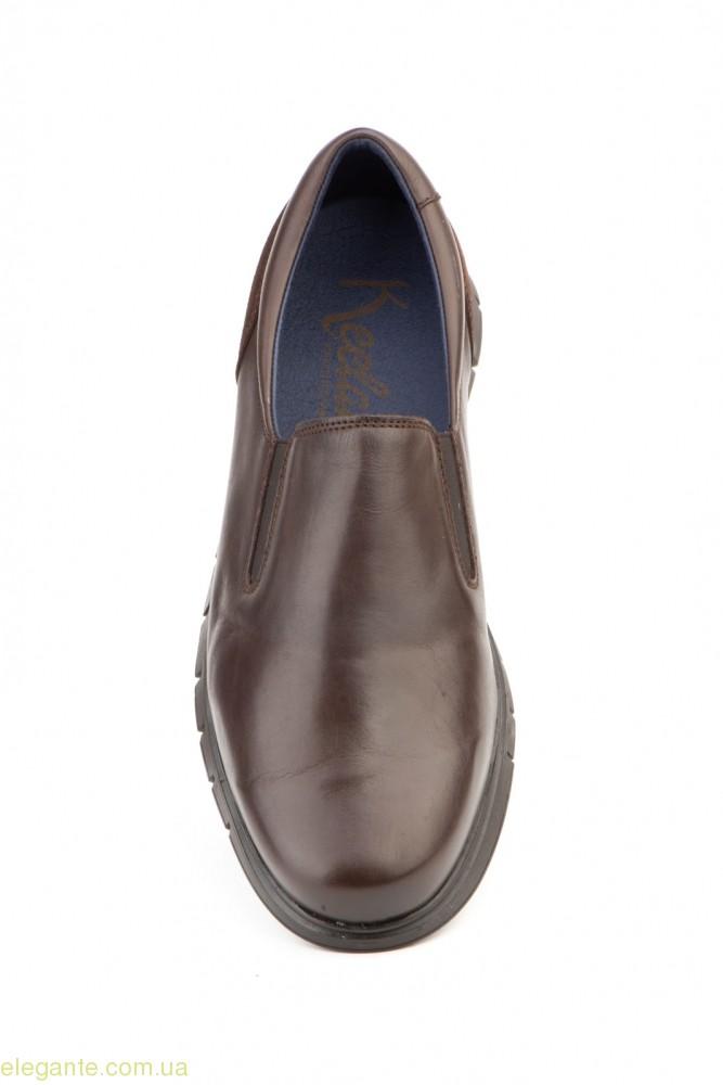 Чоловічі туфлі KEELAN коричневі 0