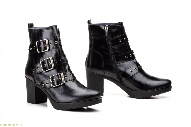 Женские ботинки с пряжкой JAM чёрные 0