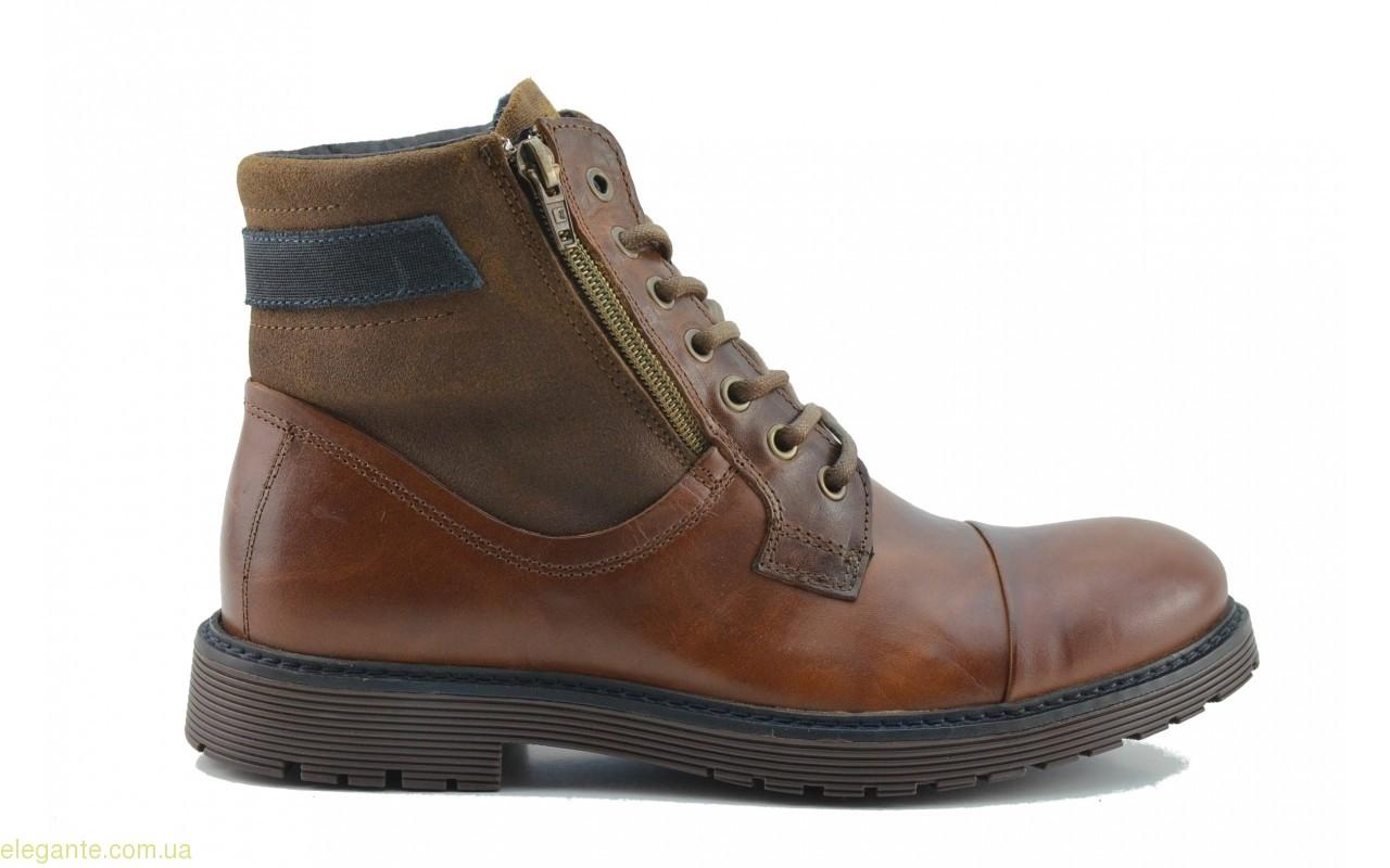 Мужские ботинки  Nautic Blue1 коричневые 0