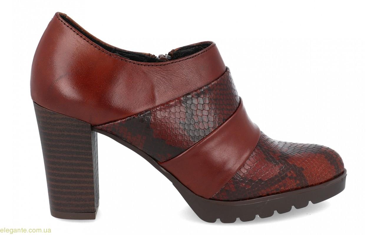 Женские полуботинки на каблуке BDA 0