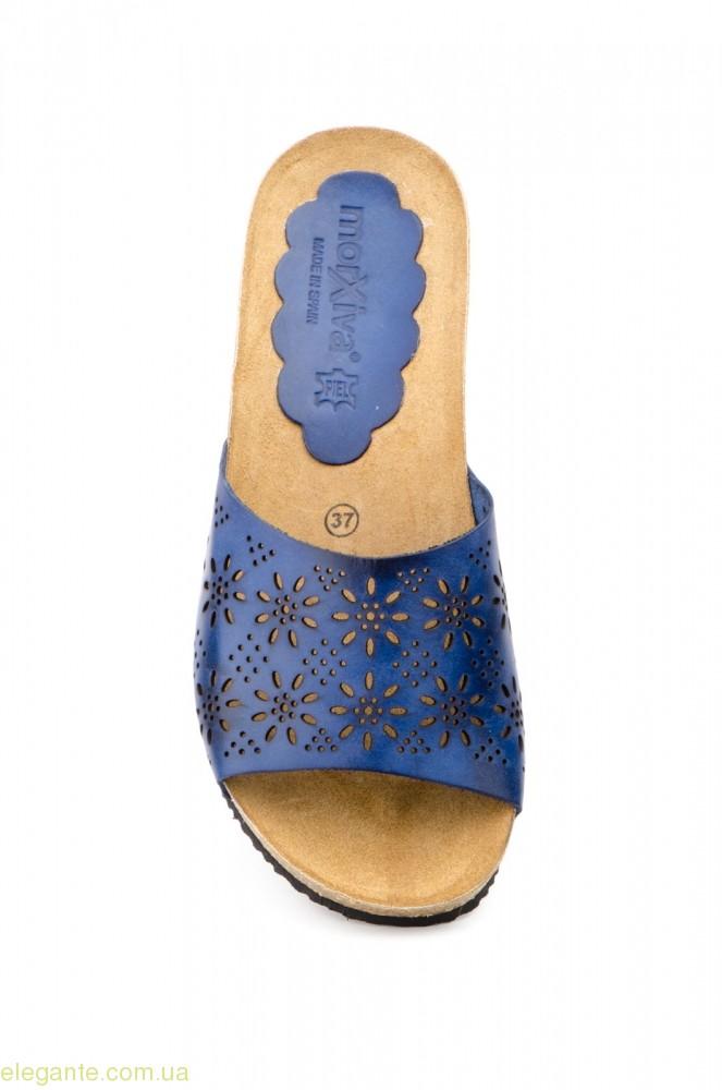 Женские шлепанцы MORXIVA1 синие 0