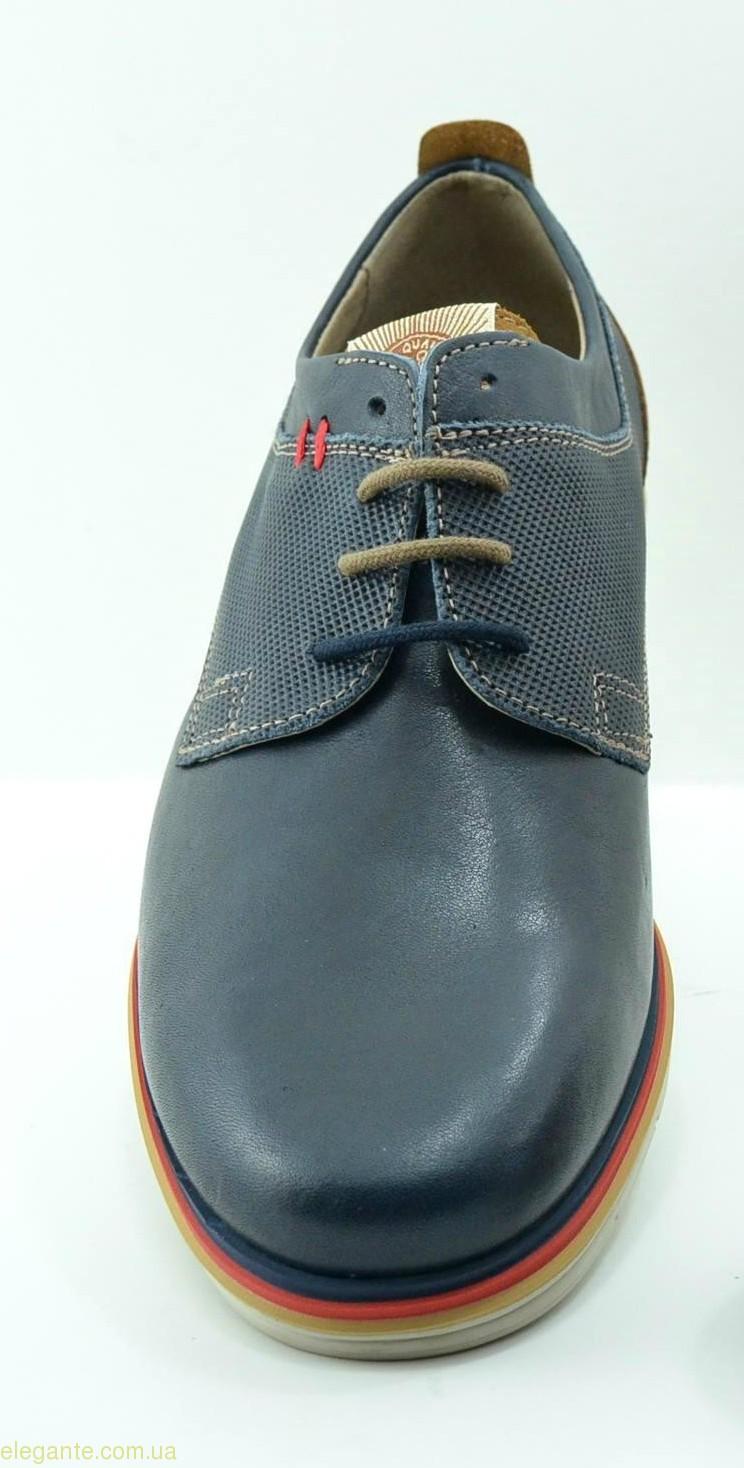 Чоловічі туфлі DJ SANTA3 сині 0