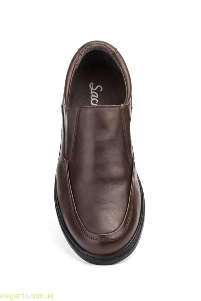 Чоловічі туфлі SCN3 коричневі 0