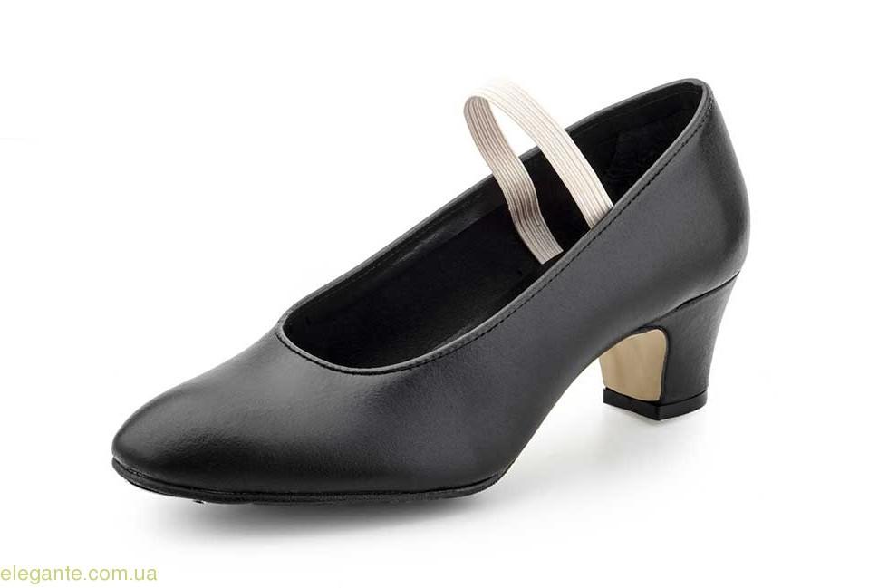 Дитячі танцювальні туфлі Carleti Sevillanas чорні 0