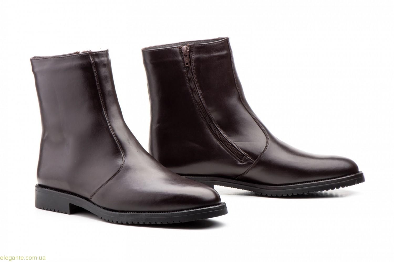 Чоловічі черевики Nikkoe коричневі 0