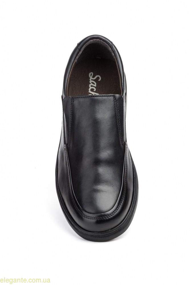 Чоловічі туфлі SCN3 чорні 0