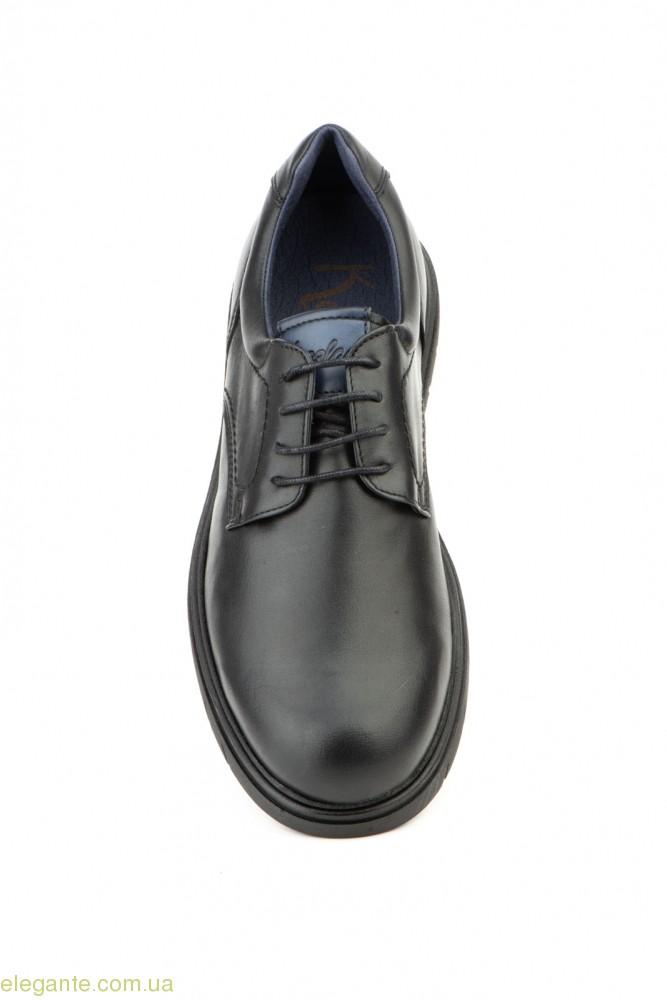 Мужские туфли дерби KEELAN чёрные 0